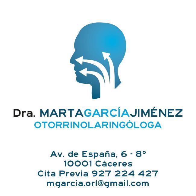 DRA. MARTA GARCIA OTORRINOLARINGÓLOGA