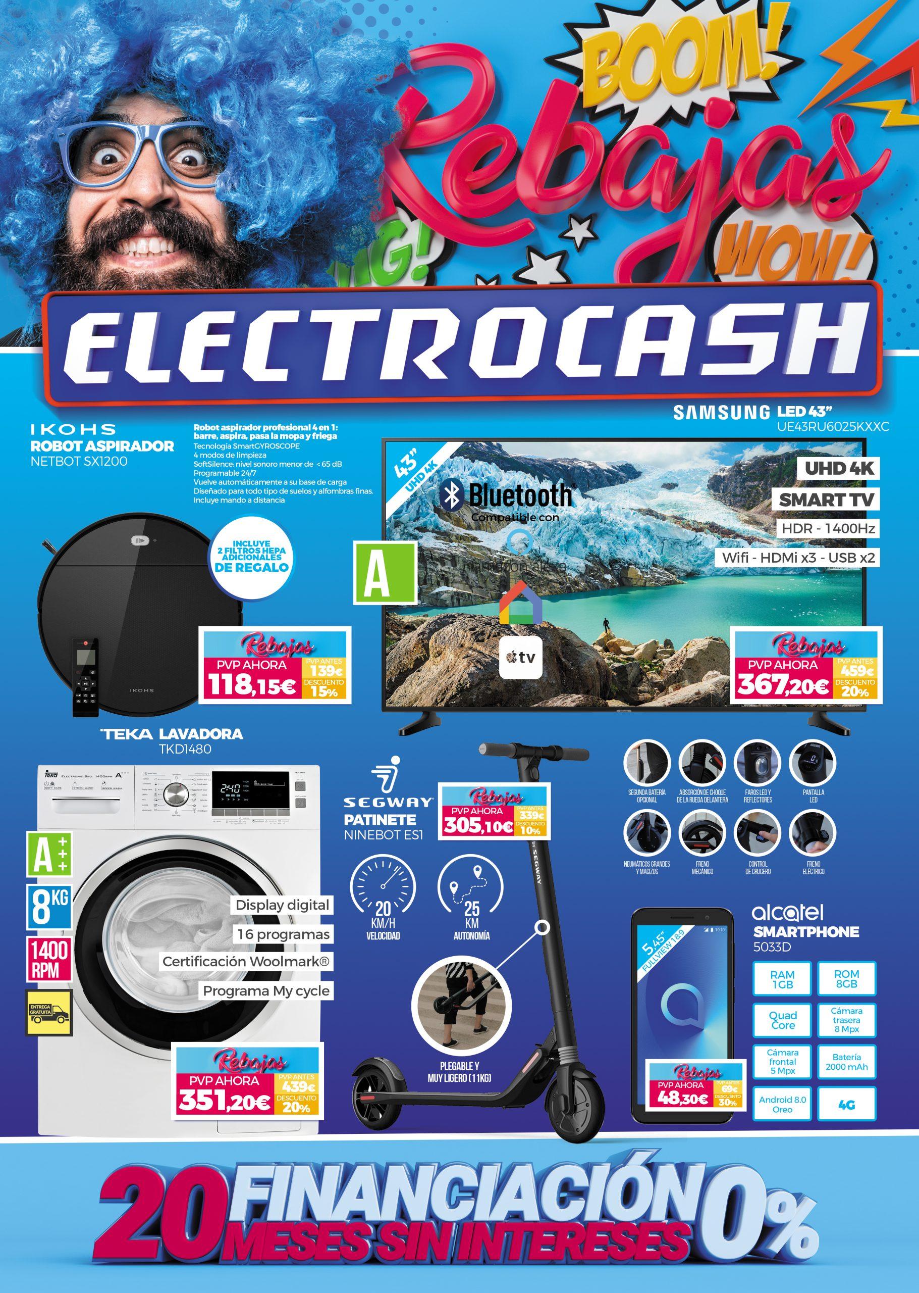 rebajas electrocash